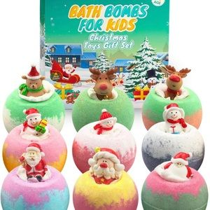 VinDox Bath Bombs for Kids - Xmas Gift Set